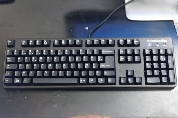 How did I get my SteelSeries 6GV2 mechanical keyboard